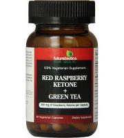 Futurebiotics Red Raspberry Ketone + Green Tea for Weight Loss