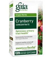 Gaia Herbs Cranberry Concentrate Review - For Relief From Urinary Tract Infections