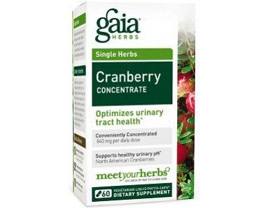 Gaia Herbs Cranberry Concentrate for Urinary Tract Infection