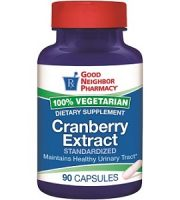 Good Neighbor Pharmacy Cranberry Extract Review - For Urinary Tract Infections