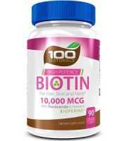 100 Naturals Biotin Review - For Hair Loss, Brittle Nails and Problematic Skin