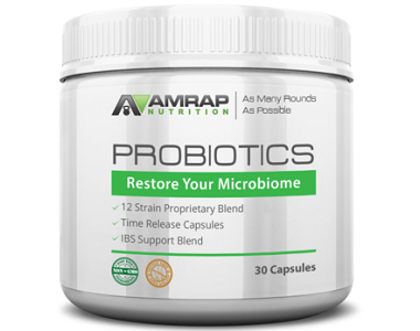 AMRAP Nutrition Probiotics Review - For Increased Digestive Support And IBS