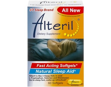 Alteril Natural Sleep Aid Review - For Restlessness and Insomnia
