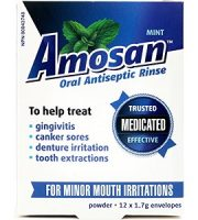 Amosan Review - For Relief From Mouth Ulcers And Canker Sores