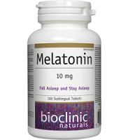 Bioclinic Naturals' Melatonin for Jet Lag