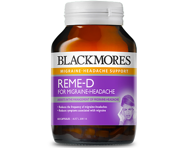 Blackmores Reme-D for Migraine Relief
