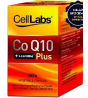 Cell Labs CoQ10 + L-Carnitine Plus for Health & Well-Being
