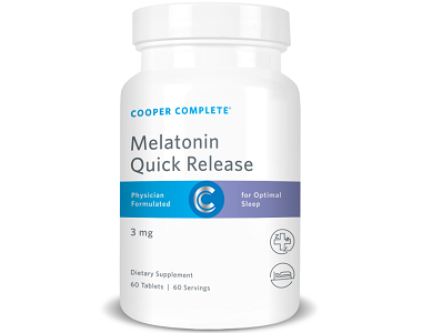 Cooper Complete Quick Release Melatonin Review - For Relief From Jetlag