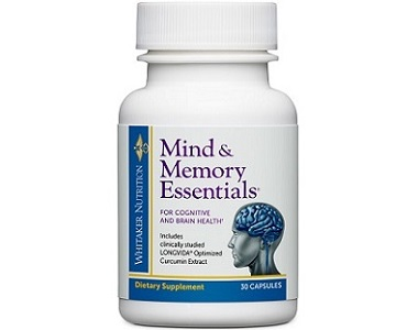 Dr.Whitaker Mind & Memory Essentials Review - For Improved Cognitive Function And Memory