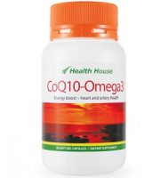 Health House CoQ10-Omega 3 for Health & Well-Being