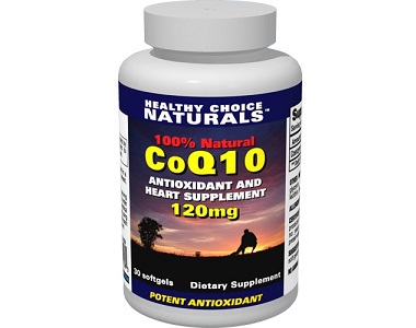 Healthy Choice Naturals CoQ10 for Health & Well-Being