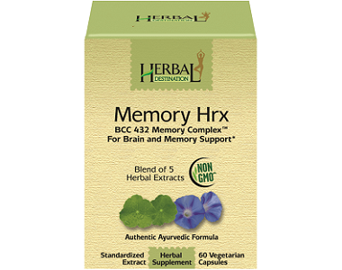 Herbal Destination Memory Hrx for Brain Booster