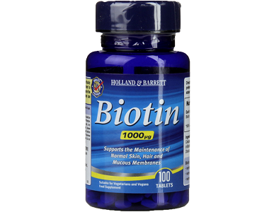 Holland & Barrett Biotin Supplement Review - For Hair Loss, Brittle Nails and Problematic Skin