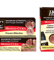 Hongo Cura Anti-Fungal Ointment & Spray for Athlete's Foot