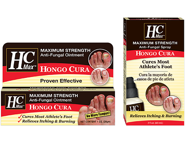 Hongo Cura Anti-Fungal Ointment & Spray Review - For Reducing Symptoms Associated With Athletes Foot