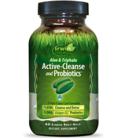 Irwin Naturals Active-Cleanse and Probiotics Review - 7 Day Detox Plan
