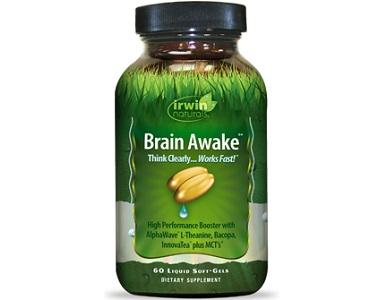 Irwin Naturals Brain Awake for Brain Booster
