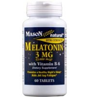 Mason Natural Melatonin Review - For Relief From Jetlag