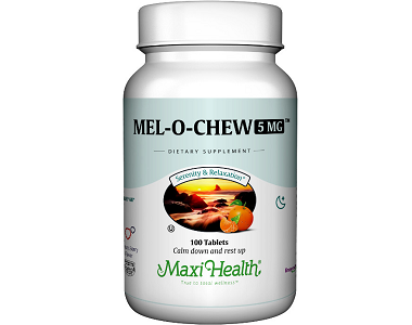 Maxi Health Mel O Chew Review - For Relief From Jetlag