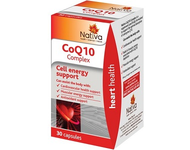 Nativa CoQ10 Complex Review - For Cognitive And Cardiovascular Support