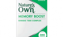 Nature's Own Memory Boost Ginkgo Review