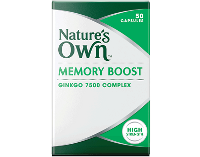 Nature's Own Memory Boost Ginkgo Review - For Improved Cognitive Function And Memory
