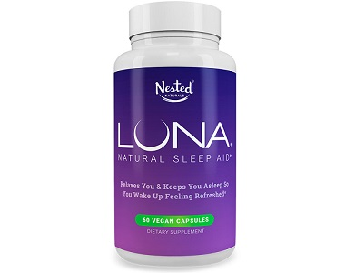 Nested Natural Luna Review - For Restlessness and Insomnia