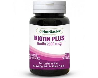 Nutrifactor Biotin Plus Supplement for Hair Growth