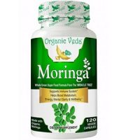 Organic Veda Moringa for Health & Well-Being
