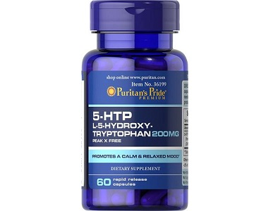 Puritan's Pride 5-HTP Griffonia Simplicifolia for Anxiety Relief