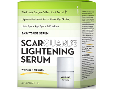 Scarguard Labs Lightening Serum Review - For Reducing The Appearance Of Scars
