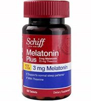 Schiff Vitamins Melatonin Plus Review - For Relief From Jetlag