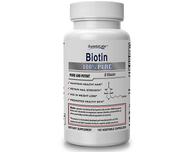 Superior Labs Biotin Supplement for Hair Growth