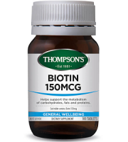 Thompsons Nutrition Biotin Review - For Hair Loss, Brittle Nails and Problematic Skin