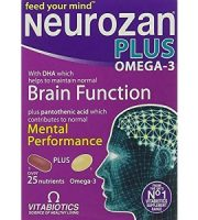 Vitabiotics Neurozan Plus Omega-3 for Brain Booster