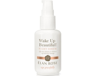 Élan Rose Wake-Up Beautiful! Night Serum Review - For Younger Healthier Looking Skin