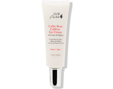 100% Pure Coffee Bean Caffeine Eye Cream Review - For Under Eye Bag And Wrinkles