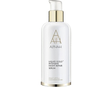 Alpha-H Liquid Gold Intensive Night Repair Serum Review - For Younger Healthier Looking Skin