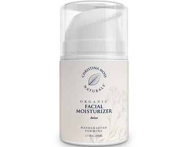 Christina Moss Naturals Organic Facial Moisturizer Review - For Younger Healthier Looking Skin