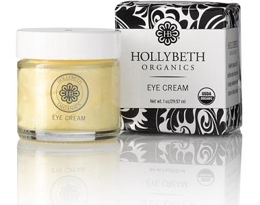 Holly Beth Organics Eye Cream Review - For Under Eye Bag And Wrinkles