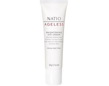 Natio Ageless Brightening Eye Cream Review - For Under Eye Bag And Wrinkles