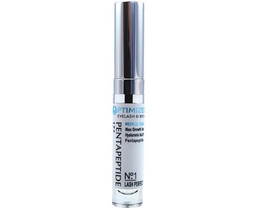 OPTIMIZED Pentapeptide 17 & Hyaluronic Acid Max Strength Growth Serum Review - For Lashes and Brows