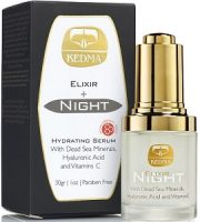 Kedma Elixir Hyaluronic Night Serum Review - For Younger Healthier Looking Skin