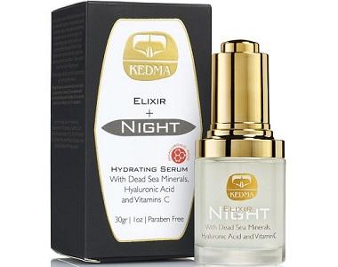 Kedma Elixir Hyaluronic Night Serum Review - For Younger Healthier Looking Skin